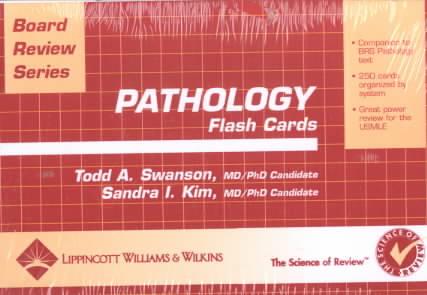 Pathology Flash Cards By Swanson, Todd A./ Kim, Sandra I.